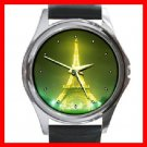 EIFFEL Tower Paris Round Metal Wrist Watch Unisex 120
