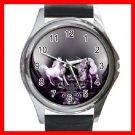 UNICORN Wings Myth Round Metal Wrist Watch Unisex 123