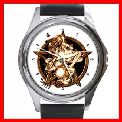 The Wiccan Rede Round Metal Wrist Watch Unisex 133