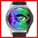 Eye Art Round Metal Wrist Watch Unisex 141