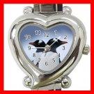 PENGUINS Couple Animals Heart Italian Charm Wrist Watch 173