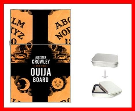 Crowley Ouija Board Flip Top Lighter + Box New Gift 001