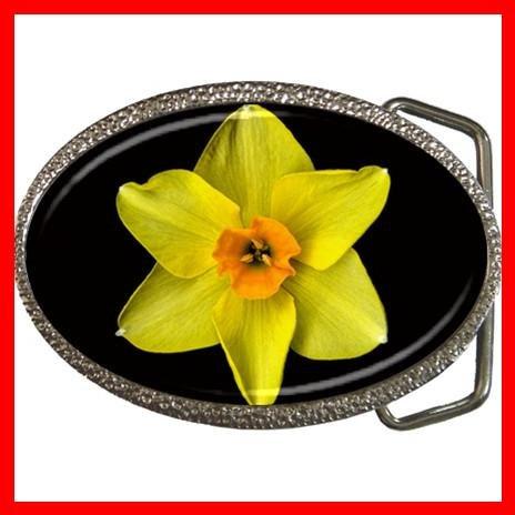 DAFFODIL Yellow Flower Cool Hobby Fun Belt Buckle 003