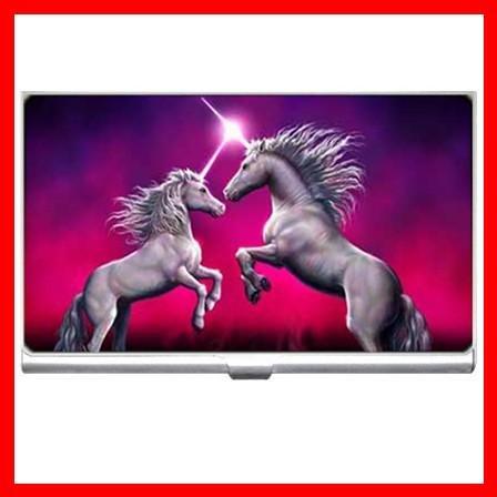 Unicorn Dance Myth Hobby Business Credit Card Case 19
