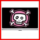 Pink Skull  Myth Hobby Business Credit Card Case 20