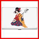 Geisha Geiko Janapese Art Business Credit Card Case 55