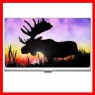 Moose At Sunrise Business Credit Card Case 62