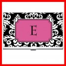 "Name Initials Letter ""E"" Hobby Business Credit Card Case 74"