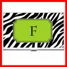 "Name Initials Letter ""F"" Hobby Business Credit Card Case 75"