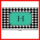 "Name Initials Letter ""H"" Hobby Business Credit Card Case 77"