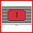 "Name Initials Letter ""J"" Hobby Business Credit Card Case 79"