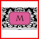 "Name Initials Letter ""M"" Hobby Business Credit Card Case 81"