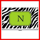 "Name Initials Letter ""N"" Hobby Business Credit Card Case 82"