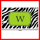 "Name Initials Letter ""W"" Hobby Business Credit Card Case 89"