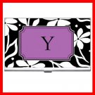 "Name Initials Letter ""Y"" Hobby Business Credit Card Case 90"