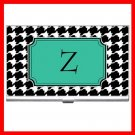 "Name Initials Letter ""Z"" Hobby Business Credit Card Case 91"