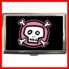 Pink Skull Hobby Cigarette Money Case 036