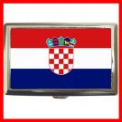 Croatia flag Nation Hobby Cigarette Money Case 040