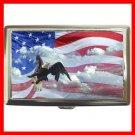AMERICAN FLAG EAGLE Hobby Cigarette Money Case 041