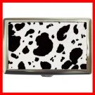 Black Cow Print  Hobby Cigarette Money Case 043
