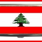 LEBANESE FLAG Hobby Cigarette Money Case 060