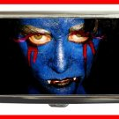 Blue Vampire Myth Blood Hobby Cigarette Money Case 086