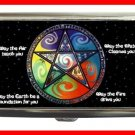 Wicca Pentagram Hobby Cigarette Money Case 095