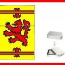 The Old Scottish Rampant Lion Flag Flip Top Lighter + Box New Gift 002