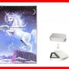 Mystic Unicorn Myth Hobby Flip Top Lighter + Box New Gift 004