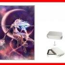 Purple Moon Myth Hobby Flip Top Lighter + Box New Gift 012