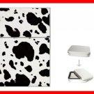 COW Skin Print Hobby Flip Top Lighter + Box New Gift 020