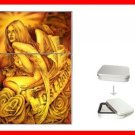 Lost Angel Myth Hobby Flip Top Lighter + Box New Gift 034