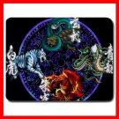 Chinese Fortune Tiger Dragon Myth Mouse Pad MousePad Mat 254