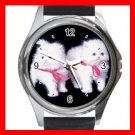 White Kittens Cats Pets Hobby Round Metal Wrist Watch Unisex 150