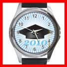 2010 Graduation Cap Student Round Metal Wrist Watch Unisex 163