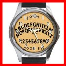 OUIJA BOARD Wooden Hobby Round Metal Wrist Watch Unisex 177