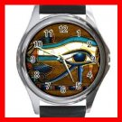 The Eye Of Horus Hobby Round Metal Wrist Watch Unisex 178