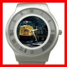 CSX SD-70 DIESEL ENGINE TRAIN Stainless Steel Wrist Watch Unisex 174