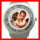 First Kiss Angels Love Stainless Steel Wrist Watch Unisex 179