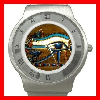 The Eye Of Horus Hobby Stainless Steel Wrist Watch Unisex 180