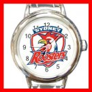Sydney Roosters Football Sports Round Italian Charm Wrist Watch 600