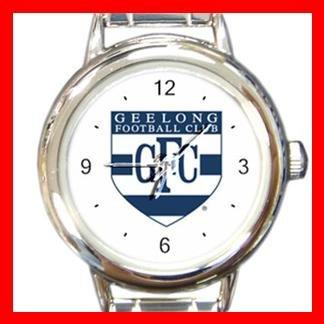 Geelong Football Football Sports Round Italian Charm Wrist Watch 603