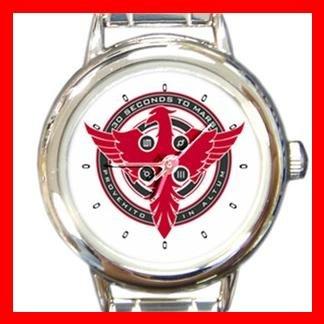 30 Seconds To Mars Rock Music Round Italian Charm Wrist Watch 605