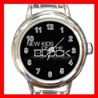 New Kids On The Block Band Italian Charm Wrist Watch 618