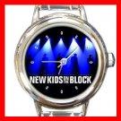 NKOTB New Kids On The Block Band Italian Charm Wrist Watch 619