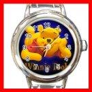 Bear Winnie Pooh Italian Charm Wrist Watch 622