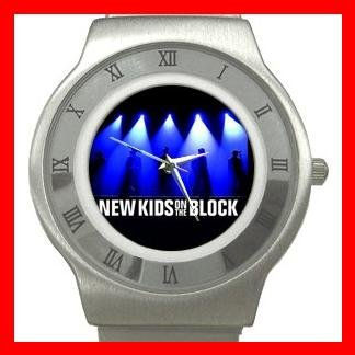 NKOTB New Kids On The Block Band Stainless Steel Wrist Watch Unisex 183