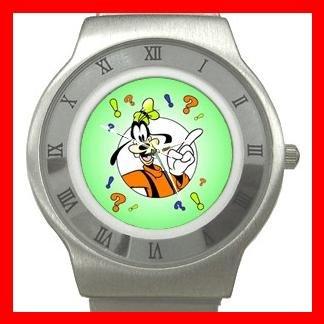 Cute Goofy Stainless Steel Wrist Watch Unisex 184