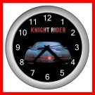 KNIGHT RIDER KITT CAR Wall/Decor Clock-Silver 003
