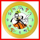 Cute Goofy Kids Wall/Decor Clock-Yellow 009